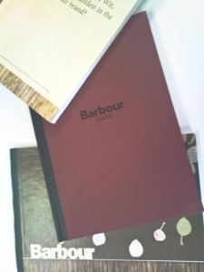 Barbour Italia professionally bound book