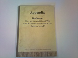 Barbour bound book
