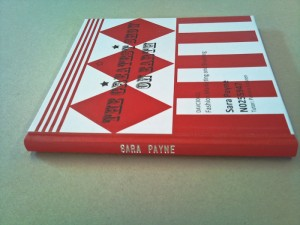 Sara Payne - Professionally bound book