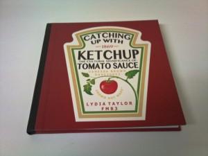 Tomato Ketchup bookbinding