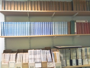 Collection of bound books